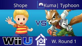 Typo @ The Lab 11/2/17 - Shope (Lucas) vs Kuma| Typhoon (Fox) - Smash 4 W. Round 1