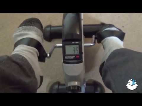 Unboxing Assemble & demo - Ultrasport Mini Bike MB 100 Selection Series Arm and Leg Training Machine