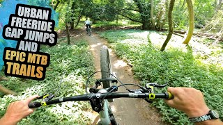 URBAN FREERIDE GAP JUMPS AND EPIC MTB TRAILS