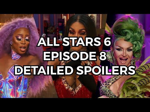 Download RuPaul's Drag Race ALL STARS 6 EPISODE 8 DETAILED SPOILERS AND PLACEMENTS (Snatch Game Of Love)