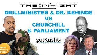 The InSight: Ep2 - Drillminister & Kehinde Andrews vs Churchill & the UK Parliament