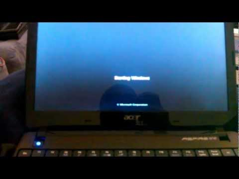 how to fix an acer laptop when stuck in reset