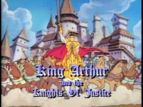 El Rey Arturo Y Los Caballeros De La Justicia Intro  YouTube
