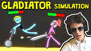 I Made a GLADIATOR Simulation Game!