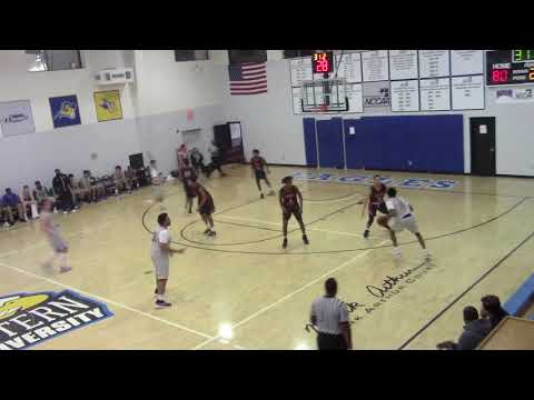 Part 10 SCU EAGLES MBB JV vs. Connors State College NJCAA 1