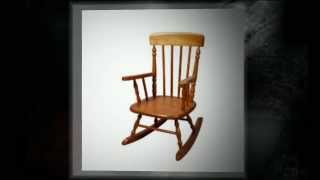 Deluxe Spindle Rocking Chair