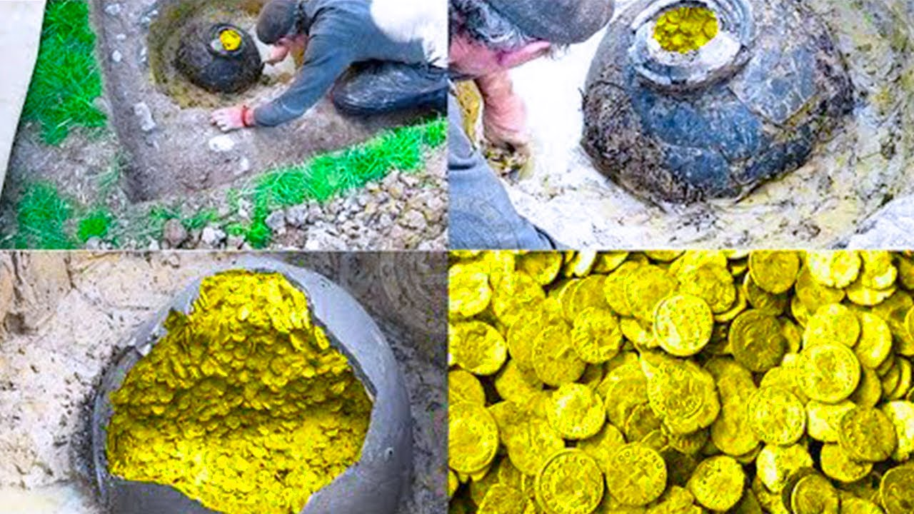 15 Times People Found Money and Gold at Strange Places
