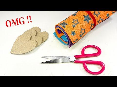 DIY decorating idea with cardboard | DIY arts and crafts | Best craft idea