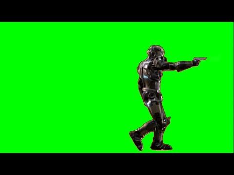 Green Screen Sci Fi Power Armor Future Battle Armor Nanosuit