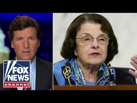 Tucker plays audio of Dianne Feinstein caught on hot mic at Barrett hearing