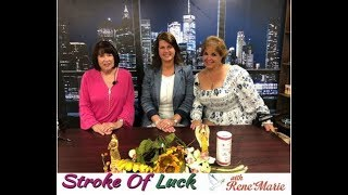 """TOGETHER"""" ~ Guest JEAN MARIE GIBBS ~ August 4, 2019 ~ RenéMarie, Stroke of Luck Show!"""