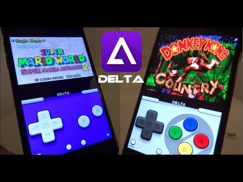 NEW Install DELTA Emulator & Games FREE iOS 12 - 12 4 / 11 / 10 NO  Jailbreak iPhone iPad iPod