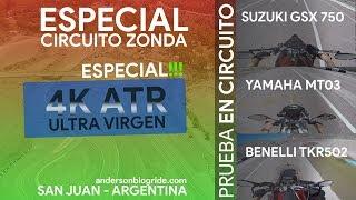 Vamos de Circuito! - Benelli TRK502 - Suzuki GSX 750 - Yamaha MT03 - Especial 4k