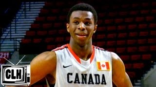 Andrew Wiggins shows complete game in front of NBA Scouts - 2013 Nike Hoop Summit