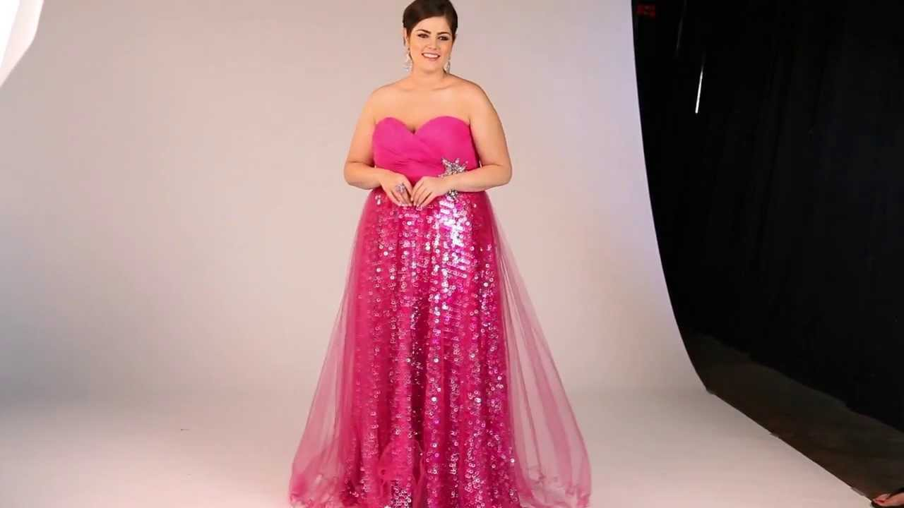 2014 Plus Size Prom Behind the Scenes Photo Shoot - YouTube