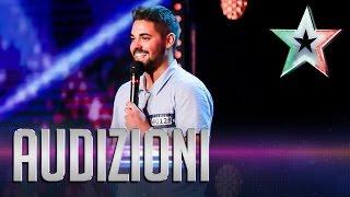 Gennaro, il cantore dell'amore | Italia's Got Talent 2015