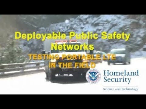 Deployable Public Safety Networks
