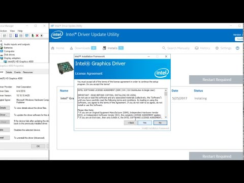 How to download the latest Intel driver on all Windows 7 8 10 at PC/Laptop the latest Method 2019