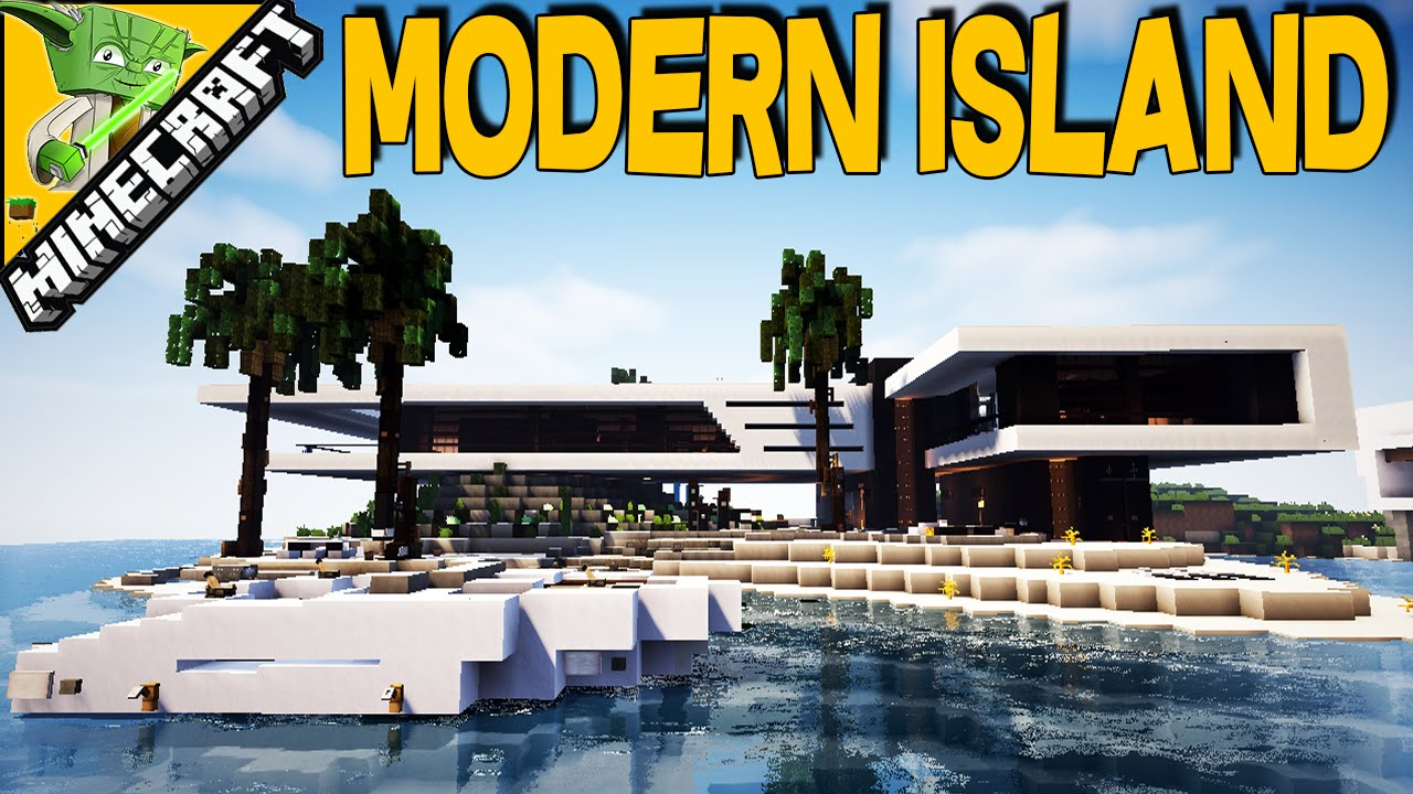 Minecraft Modern Island with Keralis YouTube