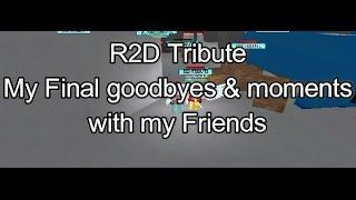 Roblox ? Montaje r2D tributo (Adiós R2D... te echaremos de menos)