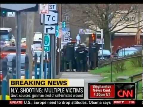 CNN Binghamton New York Shooting