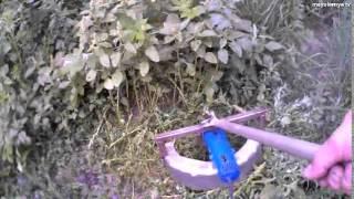 Триммер из болгарки  часть 2(Триммер из болгарки, испытания на лужайке все можно сделать своими руками, смотрите на канале maysternya tv., 2014-06-10T16:09:55.000Z)