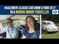 Haslemere Classic Car Show & Tour 2017 (HCCS) in a Morris Minor Traveller