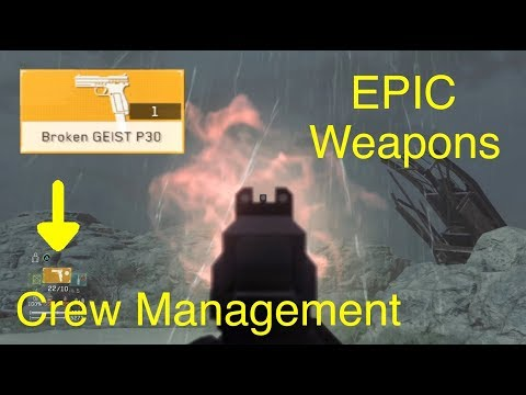 Metal Gear Survive: Epic Weapons (Crew Management Tips)