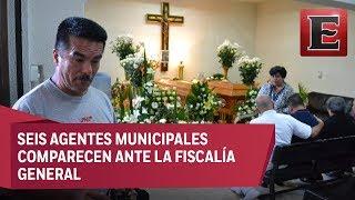 Velan en Veracruz a hermanos asesinados por policías de Orizaba