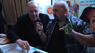 Jackie Martling's interview with Machete Media Productions at Chiller Theatre