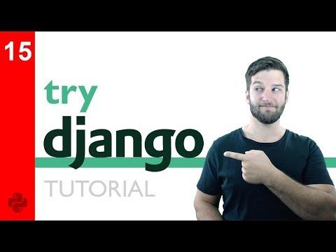 Try DJANGO Tutorial - 15 - Django Templating Engine Basics