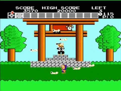 Nes Ninja Hattori Kun 1986 Youtube