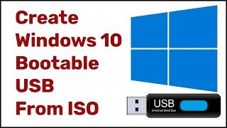 Rufus |  How to Create Windows 10 Bootable USB From ISO | Rufus Windows 10 | Updated 2019