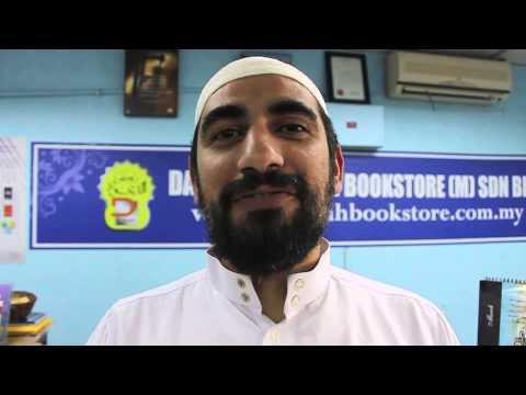 Sheikh Isam Rajab visits Dakwah Corner Bookstore Malaysia!