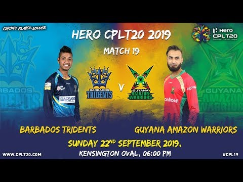 newest collection e02e0 340bc Match 19 Highlights | #BTvGAW | #CPL19