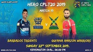 Match 19 Highlights  BTvGAW  CPL19