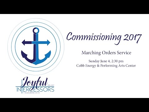 Commissioning 2017 - Marching Order Service