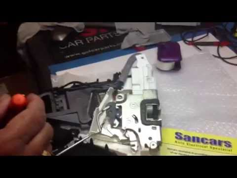 Mercedes A Class Door Lock Removal