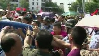 Dân Trung Quốc xuống đường biểu tình