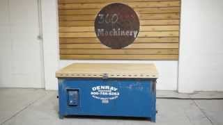 Denray 4'x6' Downdraft Sanding Table