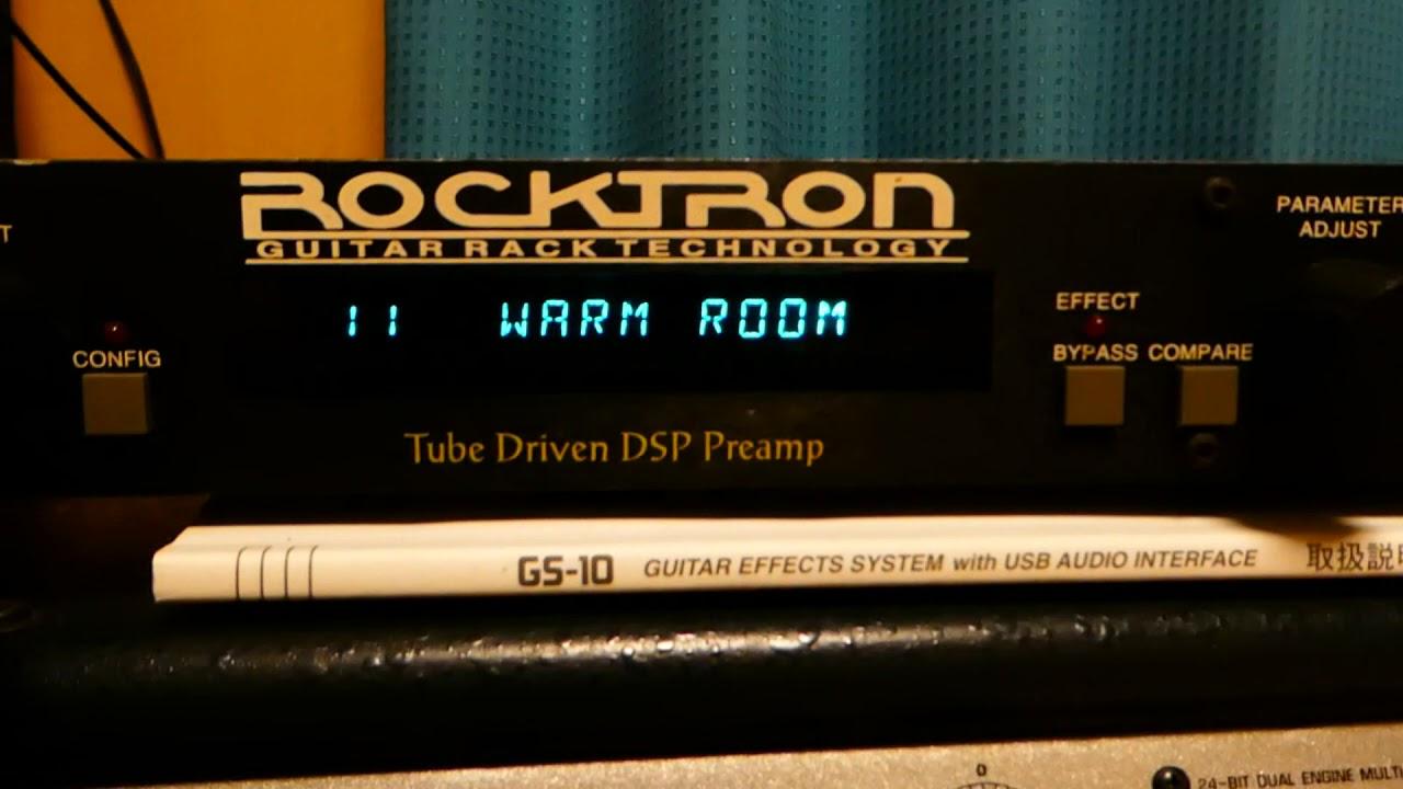 rocktron voodu valve test video youtube. Black Bedroom Furniture Sets. Home Design Ideas