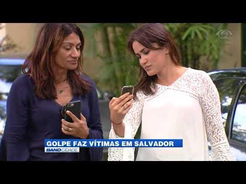 Golpe faz vítimas em Salvador