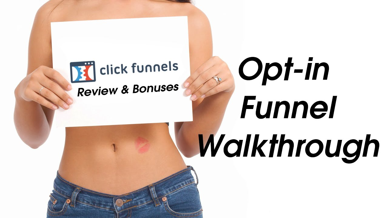 Clickfunnels Review - Optin Page Creation Walkthrough - Honest Review
