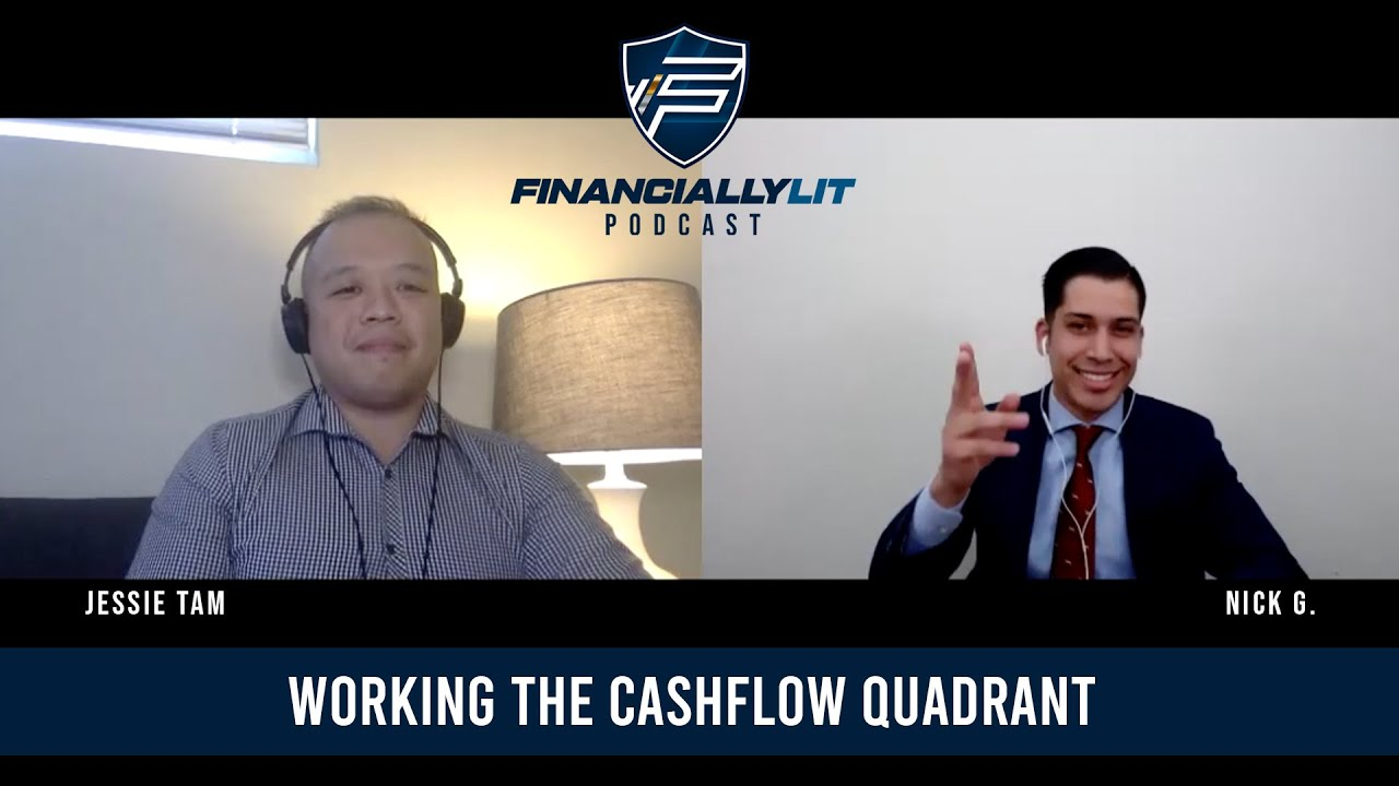 Working The Cashflow Quadrant w/ Jessie Tam!
