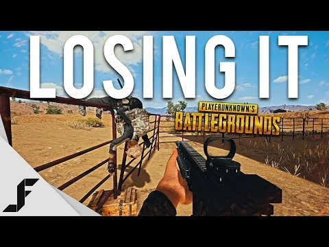 LOSING IT - Playerunknown's Battlegrounds PUBG