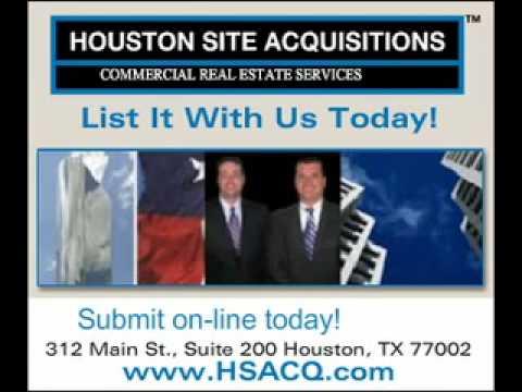 Houston Site Acquisitions, Tenant Representation, Leasing, Brokerage.