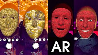Create AR Mask for Happy New Year — #2