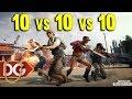 NEW PUBG WAR EVENT 10v10v10 - BEST TEAM EVER LOST ???