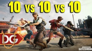 NEW PUBG WAR EVENT 10v10v10 - BEST TEAM EVER LOST ???