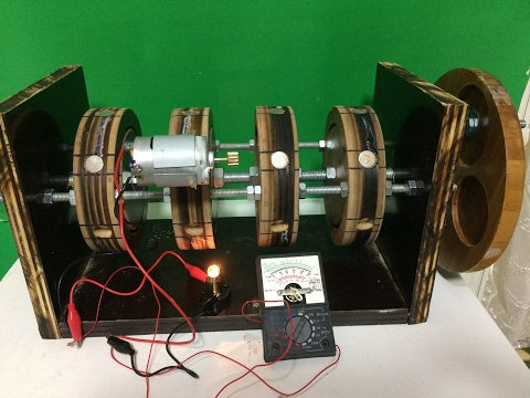 free energy generator , bedava elektrik üretimi,magnet motor